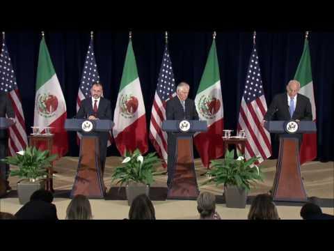 Secretary Tillerson & Secretary Kelly Press Availability w/Mexican Foreign Sec Videgaray - 5-18-17