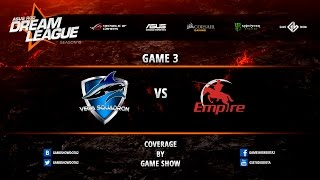 Vega vs Empire, game 1