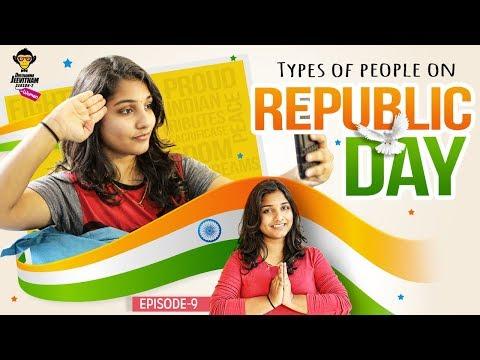 Types Of People On Republic Day || Epi #9 || DJ Women