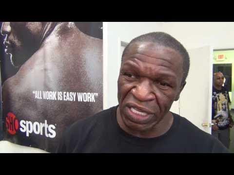 Manny - J'Leon Love served as guest interviewer as we talked to Floyd Mayweather Sr. to get his thoughts on the performance of Manny Pacquiao vs. Brandon Rios. Altho...