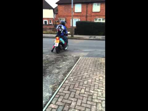 Wheelie good first ride out