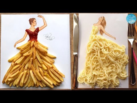 Most Creative & Stunning Dresses From Everyday Objects