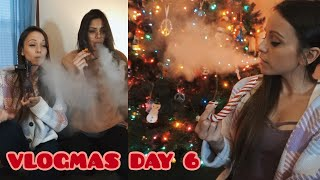 FRIENDS, BUFFALO CHICKPEA DIP & PUTTING UP THE TREE!! / Vlogmas Day 6 (12.11.19) by Silenced Hippie