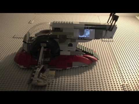 Lego star wars slave 1 8097 review