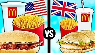 Video AMERICAN vs. BRITISH McDonald's Food MP3, 3GP, MP4, WEBM, AVI, FLV Juli 2018