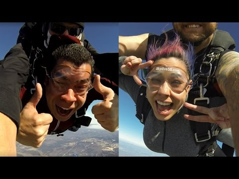 sky dive - We went Sky Diving for Red's Birthday! But he had no idea his friends would be joining him as well! LIKE and SHARE the video if you enjoyed it! // For the la...