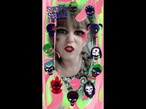 Suicide Squad Harley Quinn filter