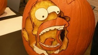 New! Amazing Halloween pumpkin carving ideas 2013. Ultimate Collection - YouTube