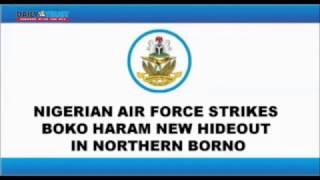 Air force clears new Boko Haram hideout