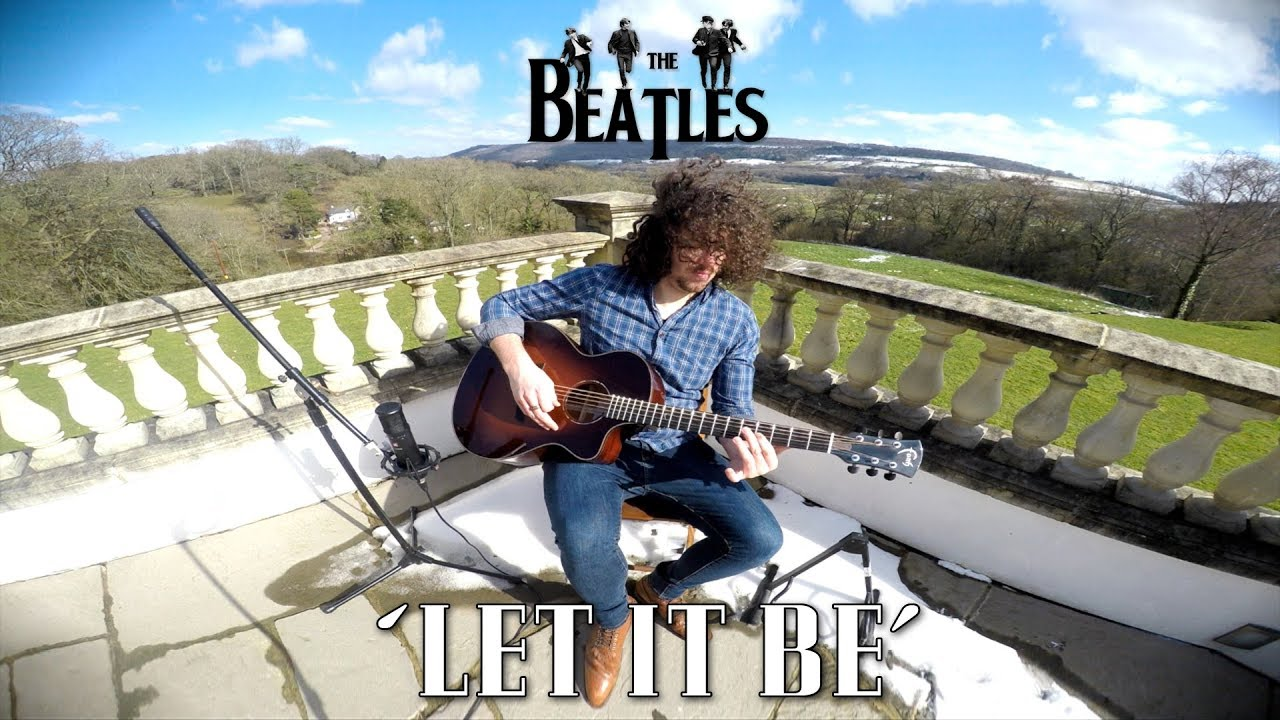 Let It Be – The Beatles – Acoustic Guitar Cover (Country Version)