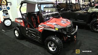 1. 2017 Hisun Strike 250 Utility ATV - Walkaround - 2016 AIMExpo Orlando
