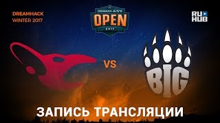 mousesports vs BiG - Dreamhack Winter 2017 - map2 - de_mirage [yXo, Enkanis]