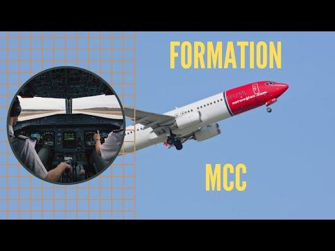 PILOTE DE LIGNE : La formation au TRAVAIL EN ÉQUIPAGE (MCC)