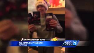 It was a Christmas morning the Sanders family will never forget. Subscribe to KCCI on YouTube now for more: http://bit.ly/QY3wuM Get more Des Moines news: ht...