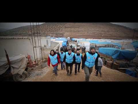 Yardımlarınız emin ellerle, Halepli kardeşlerimize ulaştırılıyor