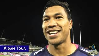 Brumbies v Bulls Player Reaction | Super Rugby Video Highlights