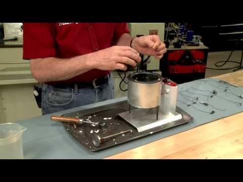 Gunsmithing - How to Nitre Blue Gun Metal for a Beautiful Finish