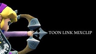 【SSB4】Toonlink Mixclip