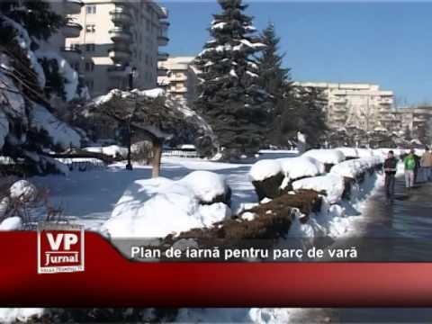 Plan de iarnă pentru parc de vară