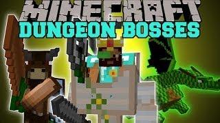 Minecraft: DUNGEON BOSSES (INTENSE NEW BOSS MOBS!) Better Dungeons Mod Showcase