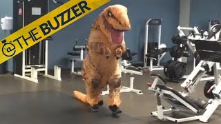 This T. Rex is going to be dino'sore' tomorrow by @The Buzzer