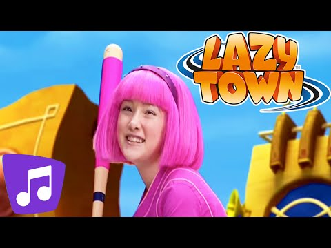 Lazy Town I Bing Bang Music Video