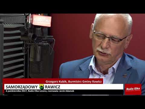 Wideo1: Samorządowy Rawicz: Grzegorz Kubik, burmistrz Rawicza