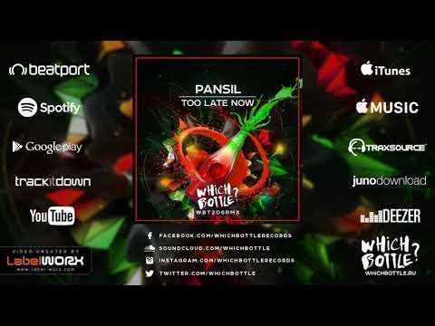 Pansil - Too Late Now (Radio Edit)