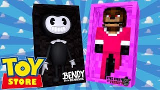 Minecraft Toy Store - BENDY TURNS FREDDY INTO A GIRL