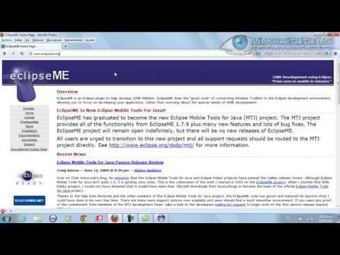 27 - TAP - Cómo instalar los plugins J2ME en Eclipse(J2ME)