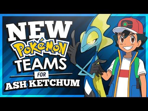 NEW Pokémon Teams for Ash Ketchum