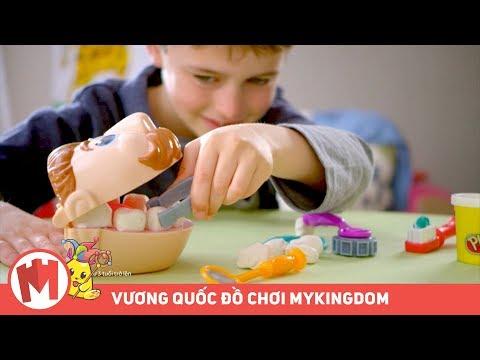 Play Doh Bác sĩ vui vẻ | Biến ước mơ làm nha sĩ thành hiện thực - Thời lượng: 46 giây.