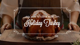 How To Carve Your Holiday Turkey!