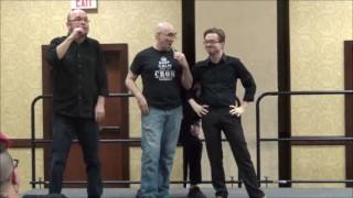 ASL Improv: Party Games with Crom Saunders, Patrick