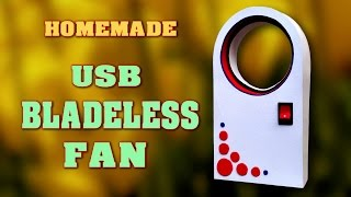 "Learn how to make a very simple USB bladeless fan at home, also known as ""Dyson Fan"" using a DC motor from a scrap cd player and waste Formica sheet. You can easily make a bladeless fan at home. The most fascinating feature about this device is that it doesn't have any visible propellers but gives wonderful and uniform air flow. This type of fan sometimes called as an air multiplier. It has small blades hidden in its base. It also known as Dyson fan. The air is drawn in by a fan in the base and then directed up into a ring. It comes out of a gap around the ring and passes over, during that time it also pull the air and thus does air multiplication.Video Title: How to make Bladeless Fan at home - DIY USB Homemade Dyson Fan Air MultiplierVideo Link: https://youtu.be/-vT25qdYJuIFor more creative project ideas follow my  YouTube channel : http://www.youtube.com/channel/UCVrNsmJyqX_lpG5QBJqDrLgFacebook:Link: http://www.facebook.com/scientificthemes/?ref=bookmarks- Please LIKE and SUBSCRIBE channel: Thank you for Watching."