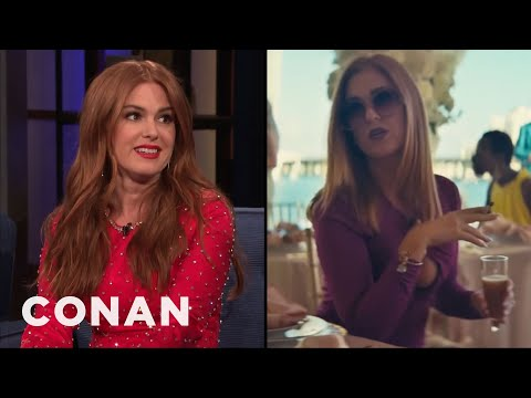 """Isla Fisher: Everyone Was Stoned On The Set Of """"The Beach Bum"""" - CONAN on TBS"""