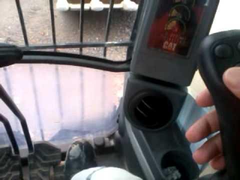 como operar uma escavadeira hidráulica cat 374