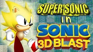 Super Sonic in Sonic 3D - Walkthrough