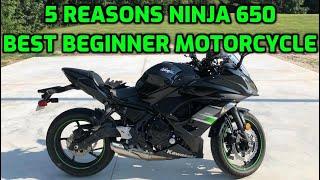 7. 5 reasons Kawasaki Ninja 650 is a GREAT beginner motorcycle