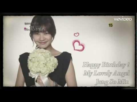 2013 Happy Birthday! ♥Jung So Min♥정소민(20130316)