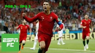 Cristiano Ronaldo Hat trick vs Spain Russia 2018 World Cup