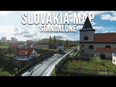 Slovakia Map by kapo944 v6.2.9 1.36