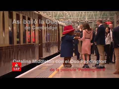Conozca al oso con el que bailó la duquesa de Cambridge