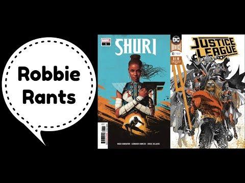 Weekly Comic Book Review 10/17/18 - Robbie Rants #235