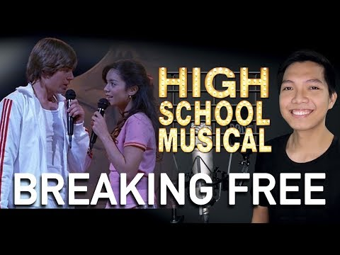 Breaking Free (Troy Part Only - Instrumental) - High School Musical