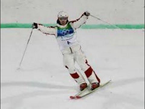 Alex Bilodeau Big Gold Medal win Sochi Olympics (2014)