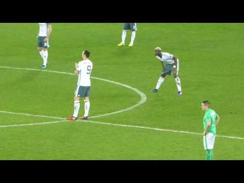 Zlatan Ibrahimovic ● Loïc Perrin ● Manchester United vs Saint-Etienne ● Europa League 2016-2017