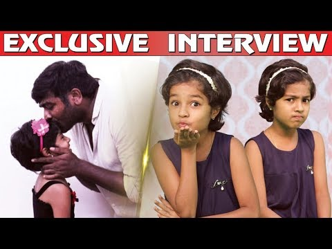 Vijay Sethupathy Uncle கூட நடிக்கனும் | Mouna Ragam Baby Krithika Cute Interview | Sakthi & Velan