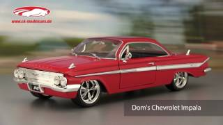 Nonton ck-modelcars-video: Dom's Chevrolet Impala Fast and Furious 8 2017 Jada Toys Film Subtitle Indonesia Streaming Movie Download
