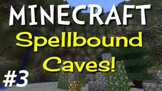 "Minecraft: Spellbound Caves E03 ""Hostile Hostel"" (Hardcore Super Hostile)"